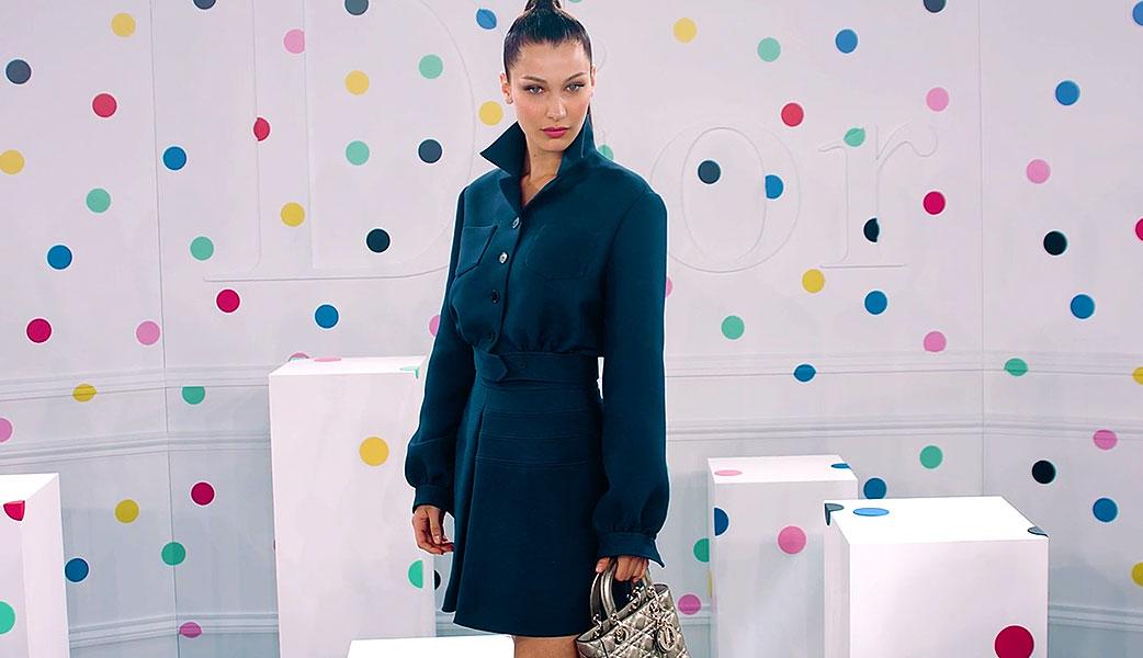 Bella Hadid Dior Launch Video
