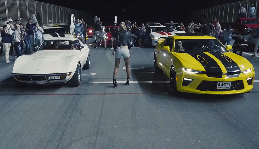 Camaro Streetwise Race Online Video