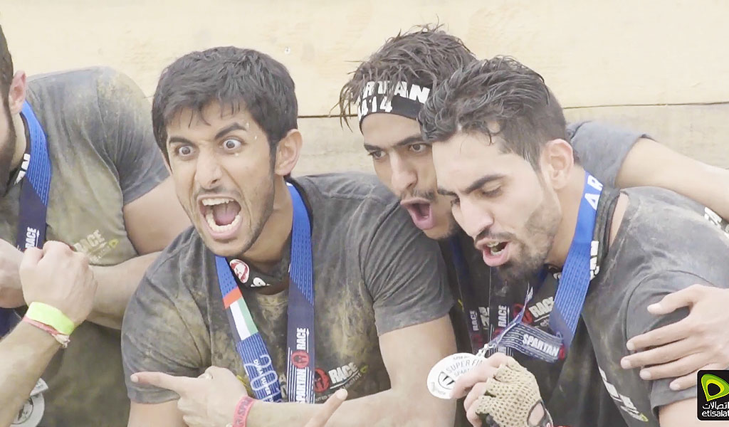 Etisalat Spartan Race Event Video