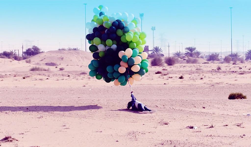 IFly Dubai Helium Balloons Concept Development